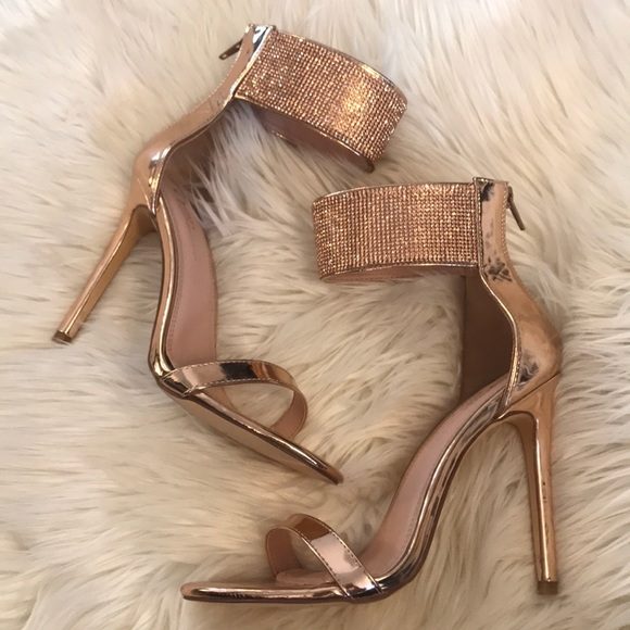 classic new specials exclusive deals Shoes | Rose Gold Diamond Heels | Poshmark